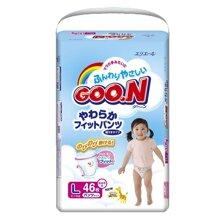 Bảng giá tã quần Goon cập nhật tháng 10/2016