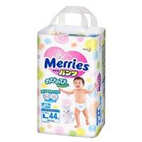 Bảng giá tã quần Merries cập nhật tháng 10/2016
