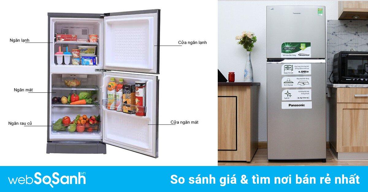 Bảng giá tủ lạnh Panasonic cập nhật mới nhất tháng 7/2018