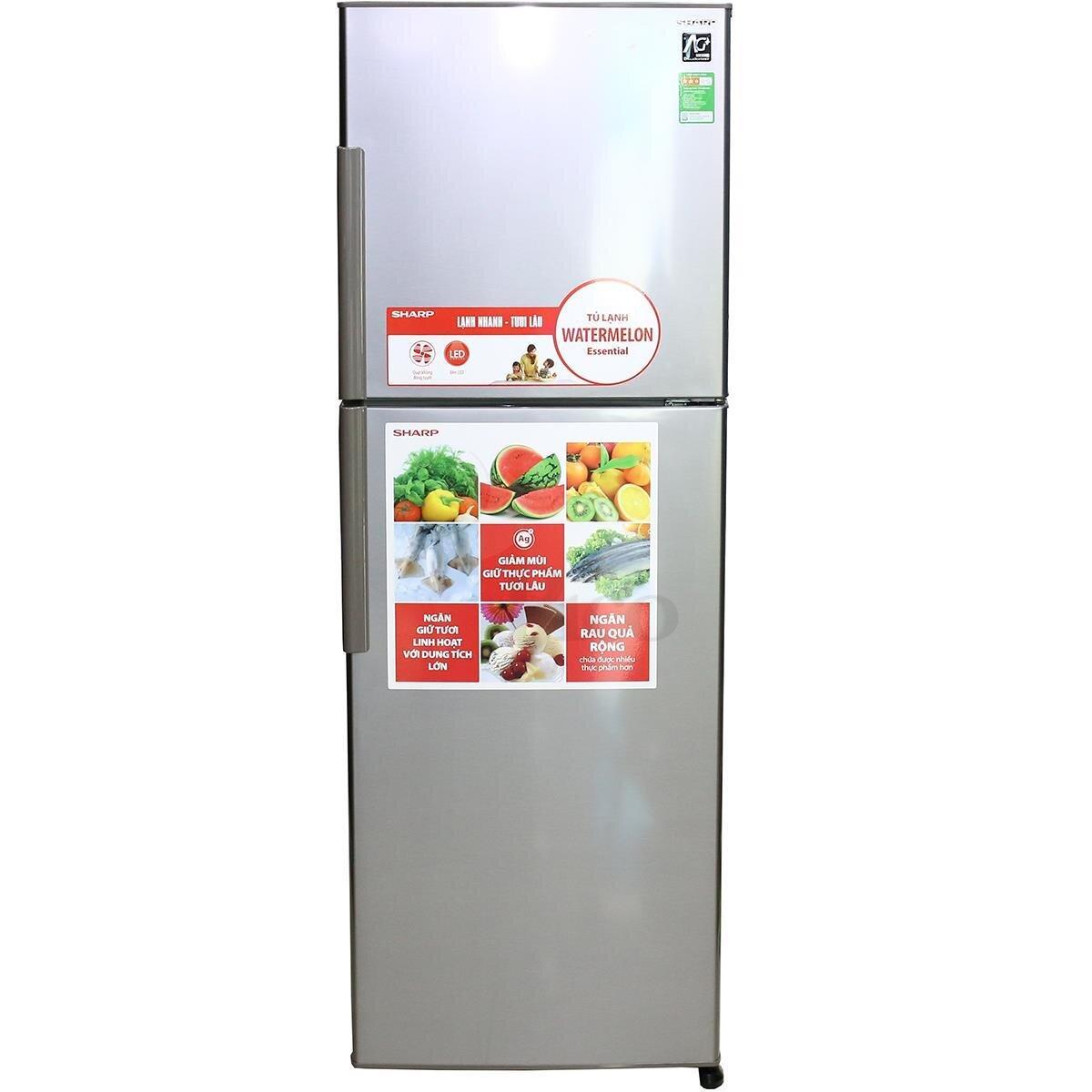 Bảng giá tủ lạnh Sharp rẻ nhất thị trường Tết Nguyên Đán 2018