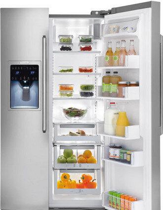 Bảng giá tủ lạnh side by side dung tích lớn của thương hiệu Electrolux Tết 2018
