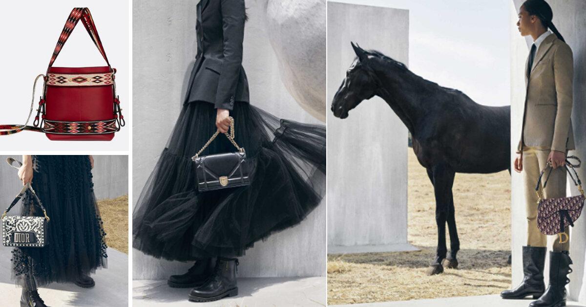 Bảng giá túi xách Dior chính hãng 2018 – Saddle bag và DiorOdeo Hobo bag được mong chờ nhất