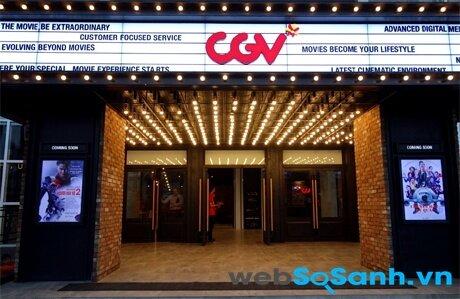 Bảng giá vé xem phim tại hệ thống rạp CGV