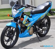 Bảng giá xe máy Suzuki (3/2015)