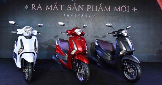 Bảng giá xe máy Yamaha cập nhật thị trường tháng 7/2019