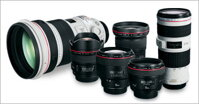 Bảng so sánh giá các loại ống kính Canon (tháng 9/2015)