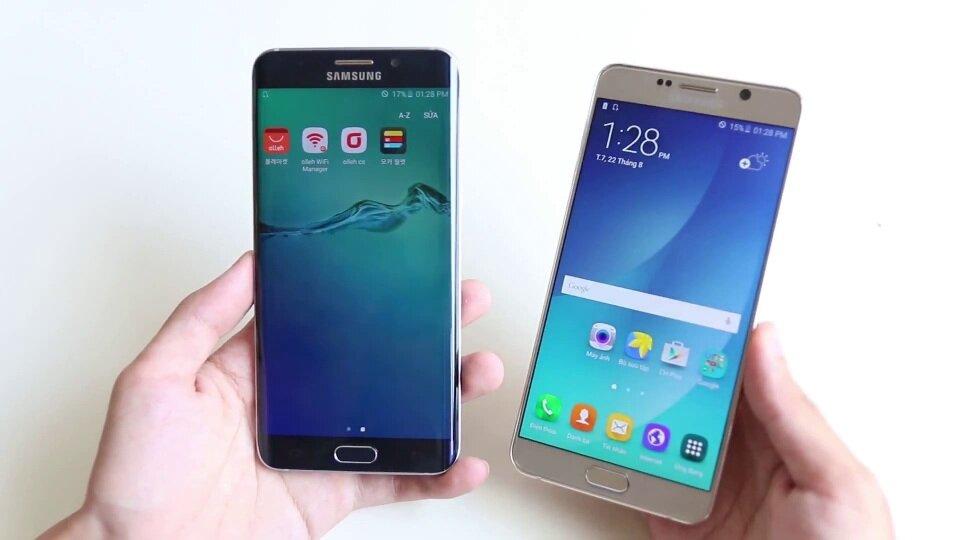 Bảng so sánh giá điện thoại di dộng Samsung chính hãng tháng 3/2017