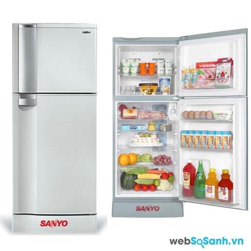 Bảng so sánh giá tủ lạnh Sanyo dưới 300 lít giữa các siêu thị điện máy cập nhật 1/2016