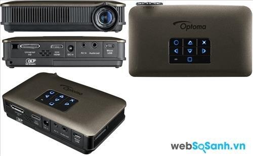 Bảng so sánh máy chiếu mini ViewSonic PLED W800 và Optoma PK320