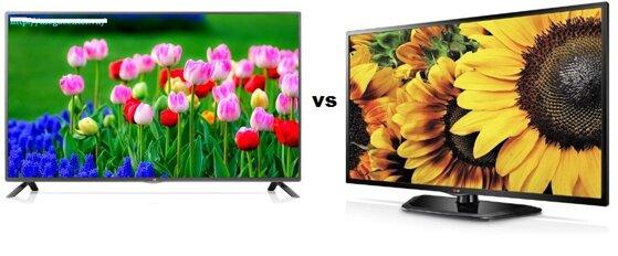 Bảng so sánh Smart Tivi LED LG 47LB582T và Tivi LED LG 47LN5400