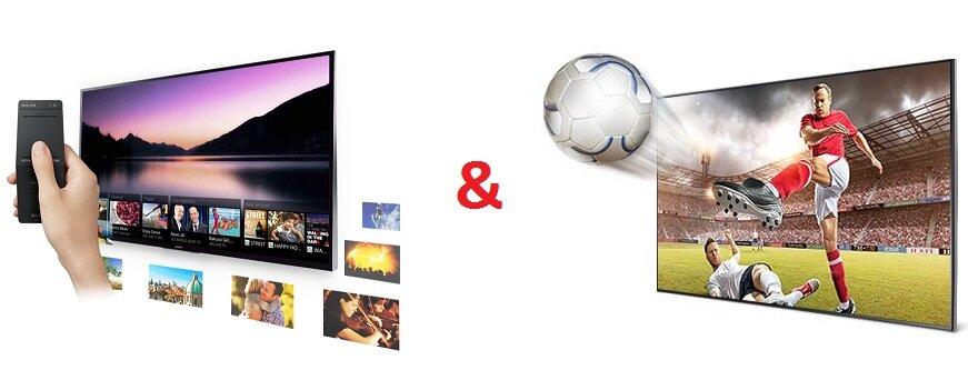 Bảng so sánh Smart Tivi LED Sony Bravia KDL-48W600B và Smart Tivi LED Samsung UA48H6400