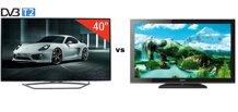 Bảng so sánh Tivi LED 3D TCL L40E5700 và Tivi LCD Sony KLV40BX450