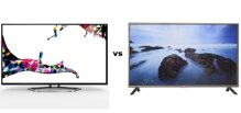 Bảng so sánh Tivi LED 3D TCL L40E5700 và Tivi LED LG 42LB561T