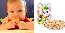 Bánh ăn dặm cho bé 5 tháng của Nhật loại nào tốt và ngon nhất?