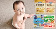 Bánh ăn dặm cho bé 6 tháng đến 7 tháng mẹ nên mua