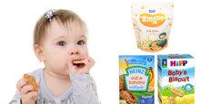Bánh ăn dặm cho bé 7 tháng loại nào tốt giàu dinh dưỡng nhất?