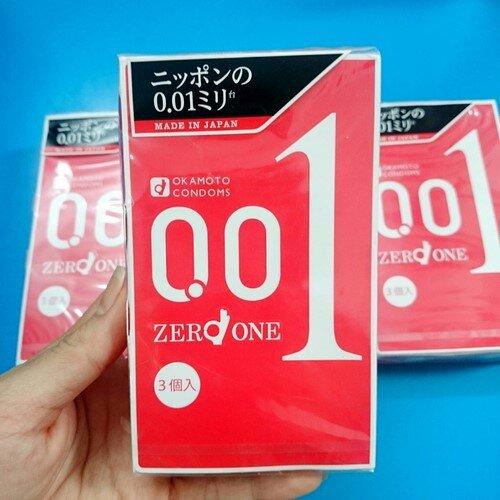 Bao cao su Okamoto siêu mỏng 0.01 có tốt không, giá bao nhiêu tiền ?