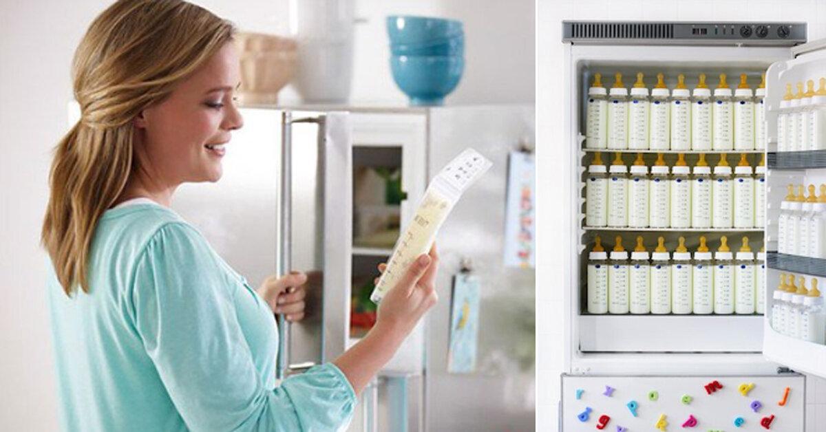 Bảo quản sữa mẹ thì mua tủ lạnh nào ? Có nên mua tủ đông để trữ sữa mẹ ?