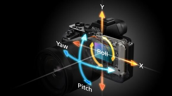 Bật mí cách hoạt động hệ thống chống rung 5 trục của máy Sony A7 II