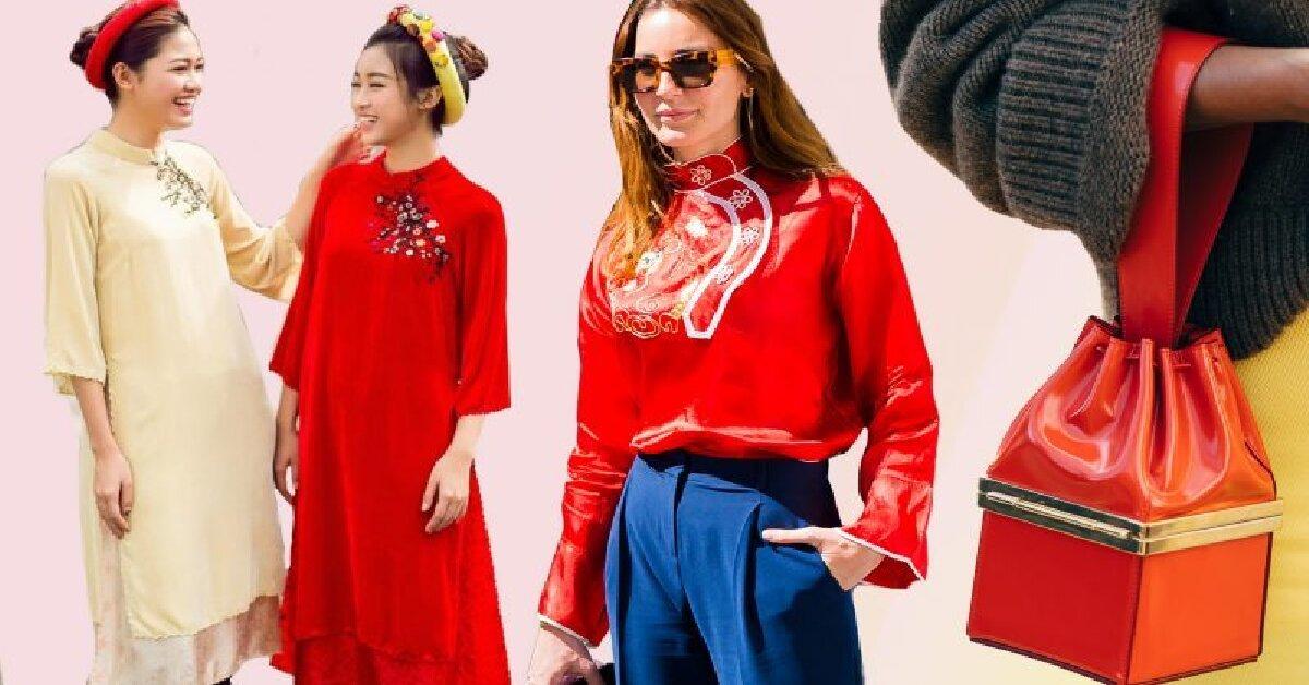 Bật mí cách phối đồ màu đỏ đem lại may mắn đầu năm 2019