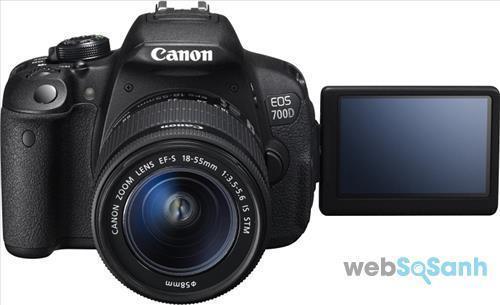 Máy ảnh bán chạy nhất năm 2017: Canon 700D