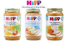 Bé vui ăn dặm với dinh dưỡng đóng lọ HiPP vị mặn
