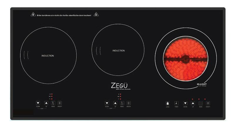 Bếp điện từ hồng ngoại 3 vùng nấu loại nào tốt giá rẻ?