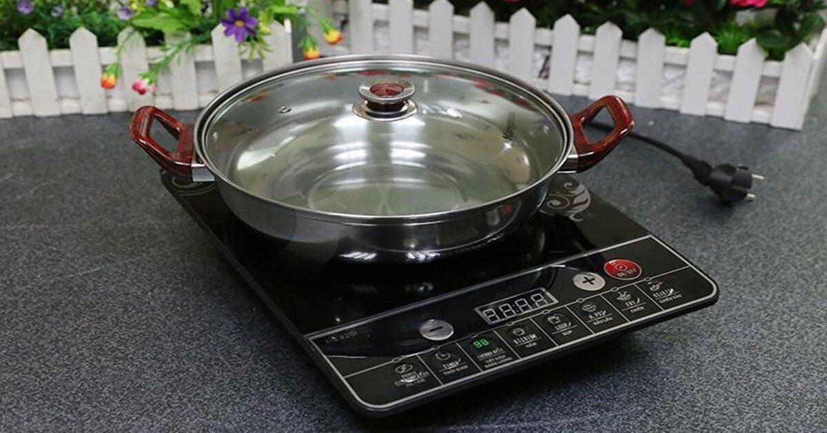 Bếp điện từ KangarooKG420i thiết kế nhỏ gọn, giá rẻ