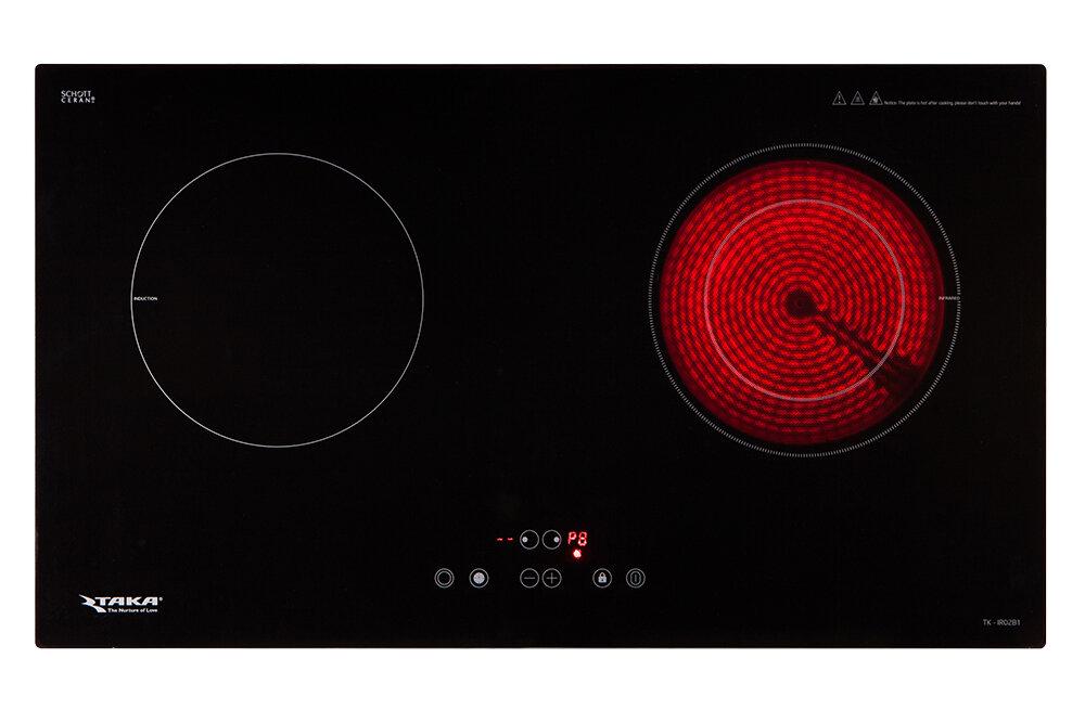 Bếp điện từ Taka TK-IR02B1 có phù hợp với gia đình nhỏ?