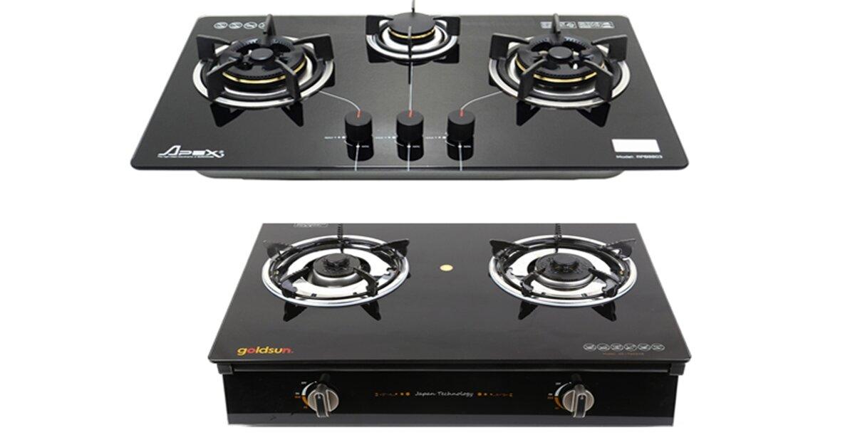 Bếp gas âm và bếp gas dương – Chọn loại nào phù hợp hơn cho gia đình bạn ?