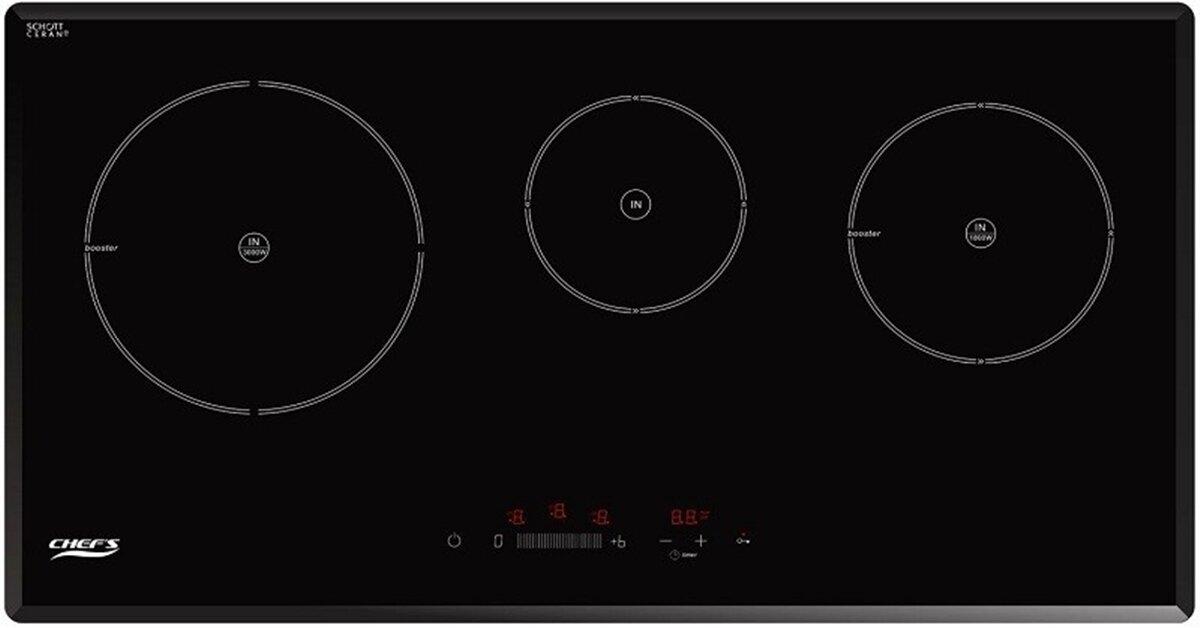 Bếp từ 3 bếp nấu hay bếp từ đôi hữu ích hơn cho căn bếp gia đình bạn ?