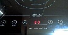 Bếp từ Bosch báo lỗi E0, làm sao để khắc phục?