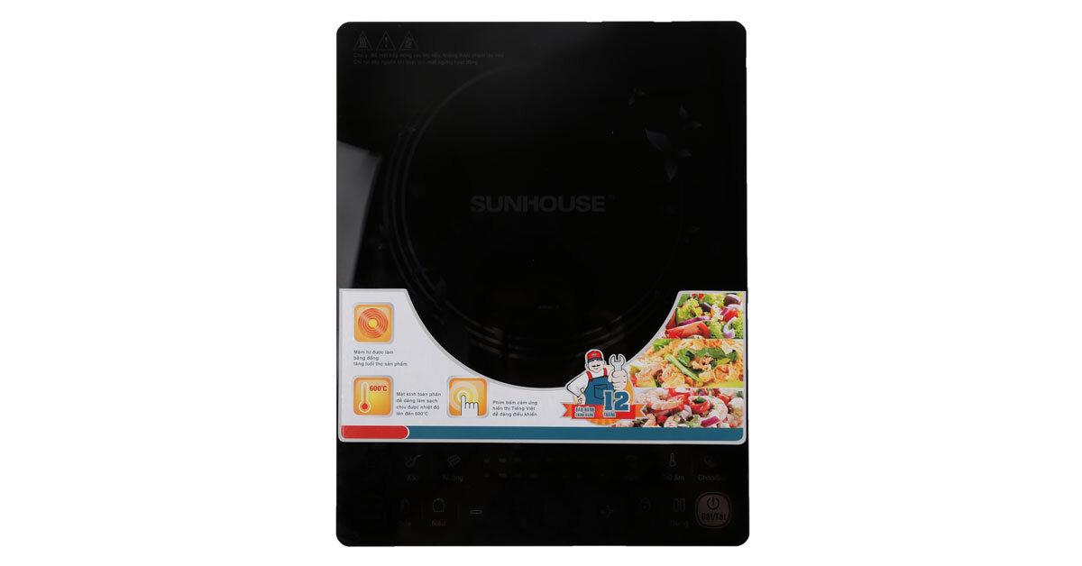 Bếp từ cảm ứng Sunhouse SHD6861 thiết kế đẳng cấp chất lượng dẫn đầu