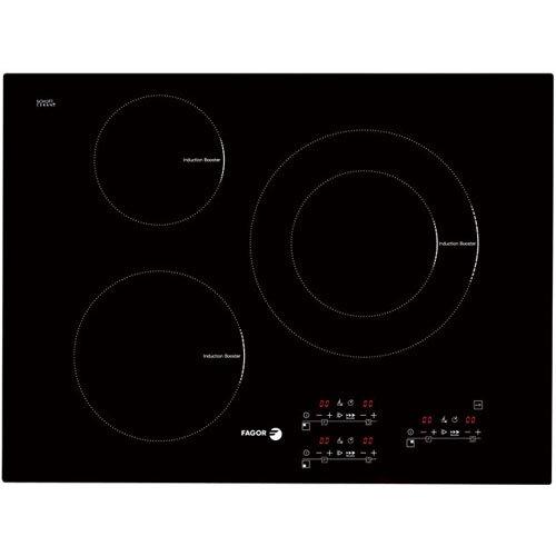 Bếp từ Fagor IF700BS cung cấp 3 vùng nấu kích thước lớn