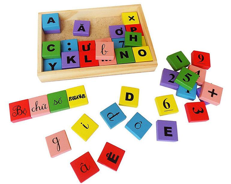 Đồ chơi chữ và số Edugames