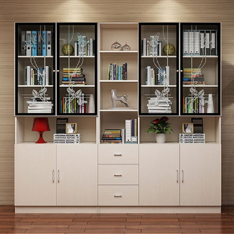 Chọn tủ văn phòng có kích thước phù hợp với diện tích và nhu cầu lưu trữ tài liệu của văn phòng