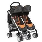Xe đẩy sinh đôi BabyPlanet 101202-TC (màu cam)