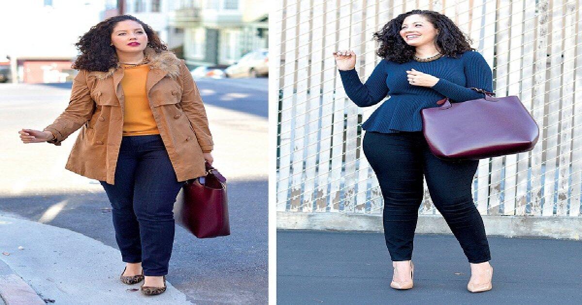 Bí quyết chọn áo khoác mặc đẹp cho người béo vào mùa đông