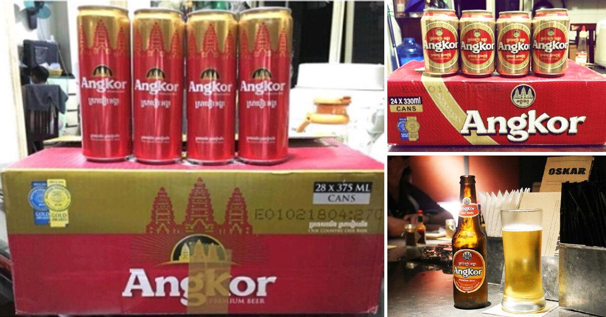 Bia Angkor do nước nào sản xuất ? Có mấy loại ? Giá bao nhiêu tiền ?