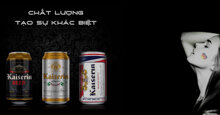 Bia Kaiserin là thương hiệu của nước nào ? Có mấy loại ? Giá bao nhiêu tiền ?