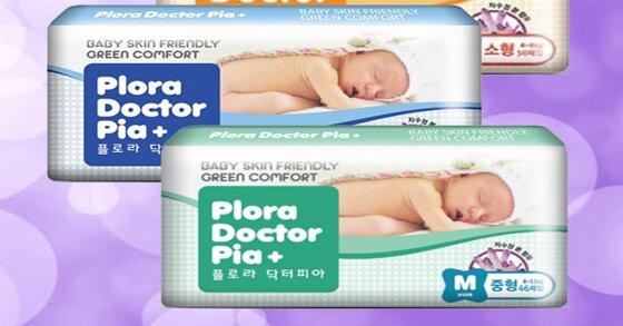 Bỉm Hàn Quốc Doctor Pia mềm mại với làn da nhạy cảm của bé