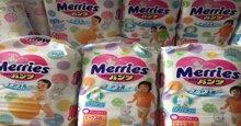 Bỉm merries newborn nội địa Nhật giá có đắt không ?