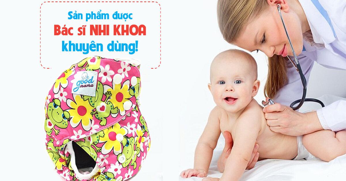 Bỉm vải Goodmama sự lựa chọn tốt nhất dành cho bé yêu