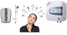 Bình nóng lạnh trực tiếp và gián tiếp loại nào an toàn hơn ?