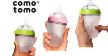 Bình sữa Comotomo thích hợp cho bé mới tập ti bình
