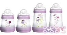 Bình sữa Mam làm bằng chất liệu silicon siêu mềm và an toàn không chứa BPA