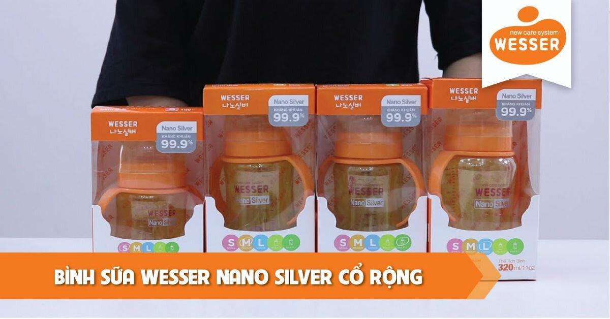 Bình sữa Wesser giá bao nhiêu tiền ?