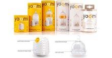 Bình sữa Yoomi tự hâm nóng – Thiết kế tinh tế và đột phá