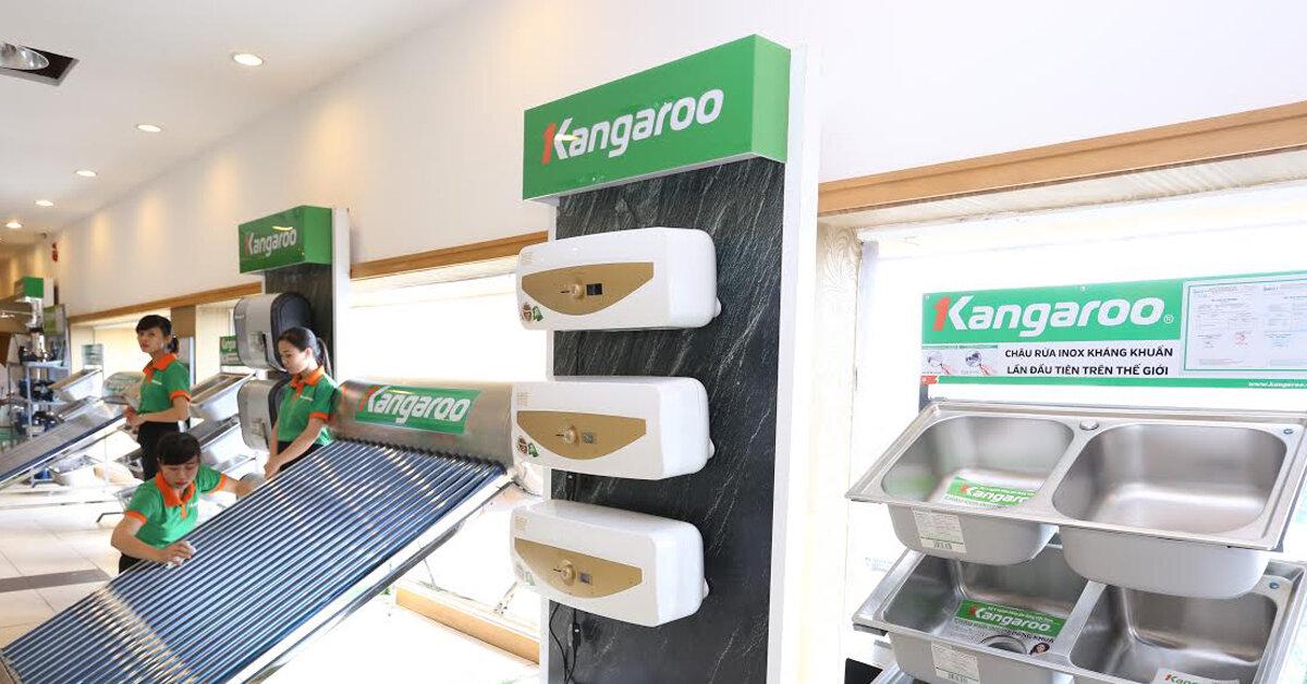 Bình tắm nóng lạnh Kangaroo có những loại nào ? nên mua loại nào cho gia đình 4 người ?