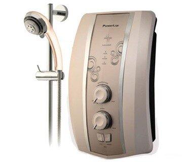 Bình tắm nóng lạnh trực tiếp PowerLux S8000E: Thiết kế sang trọng và đa dạng